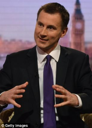 Health Secretary Jeremy Hunt said trusts found to be manipulating figures must be 'held to account'