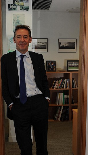 Power Player: Jim O'Neill keeps footballs under the desk in his office