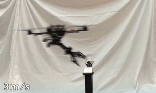 Snatch: Engineers at the University of Pennsylvania in Philadelphia have developed a grabbing arm that can be attached to a drone