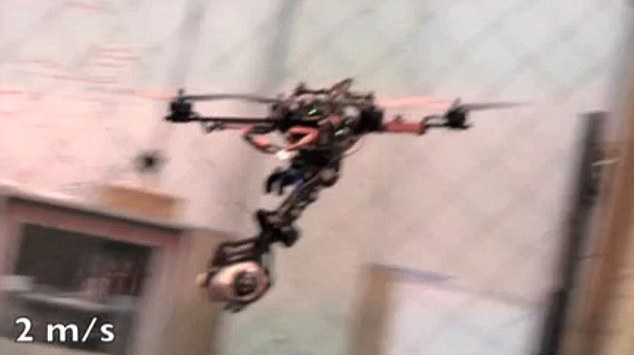 Tool: Drones have become an increasingly popular piece of machinery for security forces across the world
