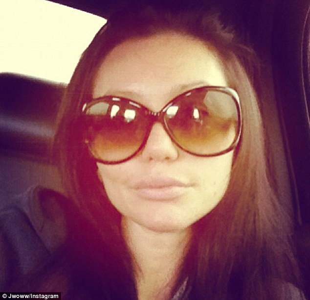 Feeling poorly: JWoww confessed she was feeling sick but battled through with her work commitments