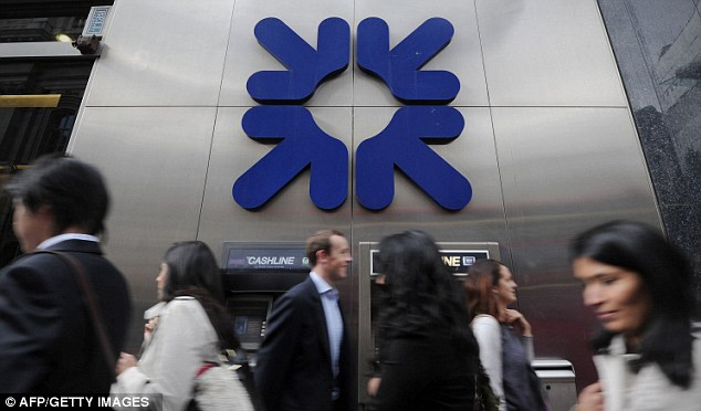 Forced sale: RBS was ordered to sell the branches by the European Union as the price for its state bailout during the banking crisis