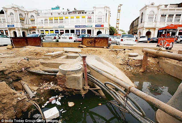 Upscale Connaught Place is among the most dengue-infested areas of New Delhi