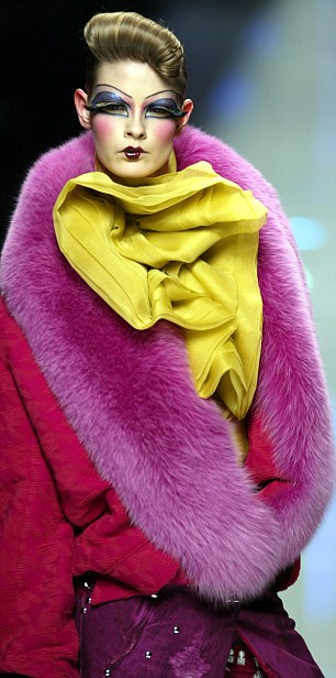 A piece from a Dior collection designed by John Galliano