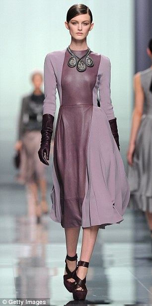 A model walks the runway during the Christian Dior Ready-To-Wear Fall/Winter 2012 show as part of Paris Fashion Week