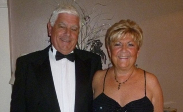 'Who gave them the right to take our money?' Dee Mannerings with her husband Mick
