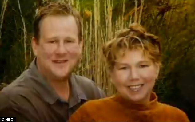 Loss: Todd said his wife Gail had been desperate to get to work early to help out a co-worker