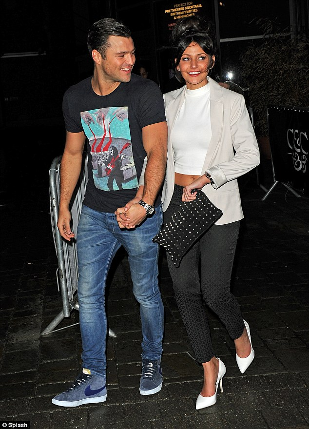 Bronzed stomach: The Corrie star seemed confident enough to reveal her taut tummy in a midriff-revealing white top