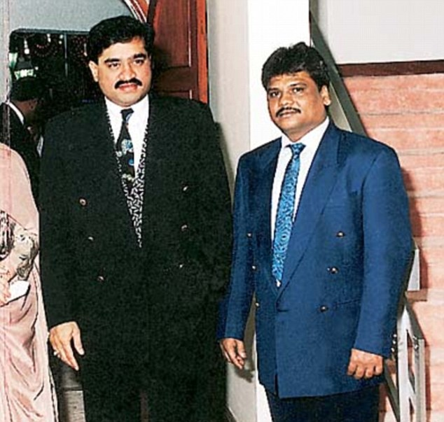 Munna Jhingada had attacked former Dawood Ibrahim (left) aide Chhota Rajan (right) in 2001