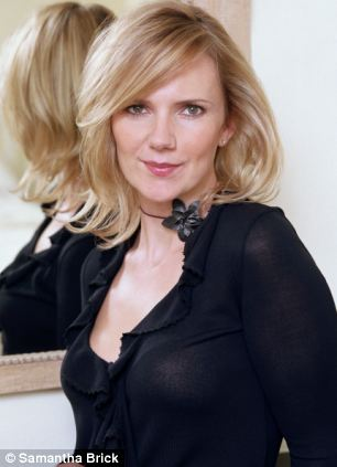 Samantha Brick in 2006, when she worked in television