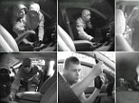 Caught red-handed: Rogues' gallery of thieves busted breaking into police 'honey trap' cars rigged with secret cameras