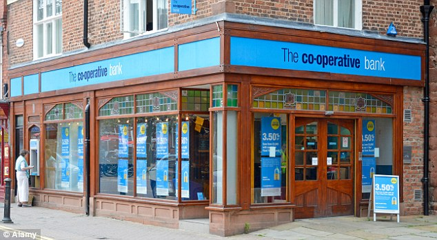 Expansion hopes: Co-op is understood to be considering other asset sales to boost its capital strength and pull off the Lloyds branch purchase