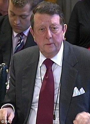 Backing: Sir Dave Richards
