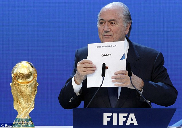 Concerns: There are fears that if the World Cup goes ahead during the summer in Qatar, it could be too dangerous for players
