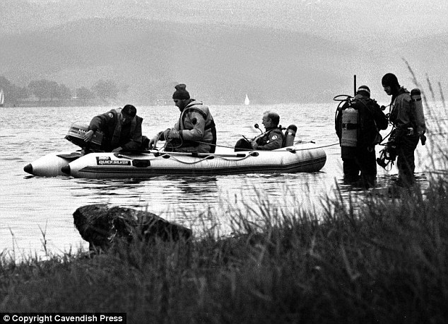Mystery: Park was arrested following the discovery by divers of his wife's body in the beauty spot Lake Coniston but was not tried and convicted of her murder until 2005