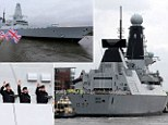 The first voyage of Duncan the Destroyer! �illion warship leaves Scottish shipyard to join Royal Navy fleet at Portsmouth