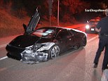 Couple crashes and abandons $220K Lamborghini on the highway just HOURS after buying it from dealer