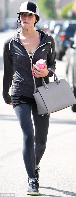Gym bunny! Ashley Greene rarely  goes anywhere else socially other than the gym, so it's no wonder she looks so good