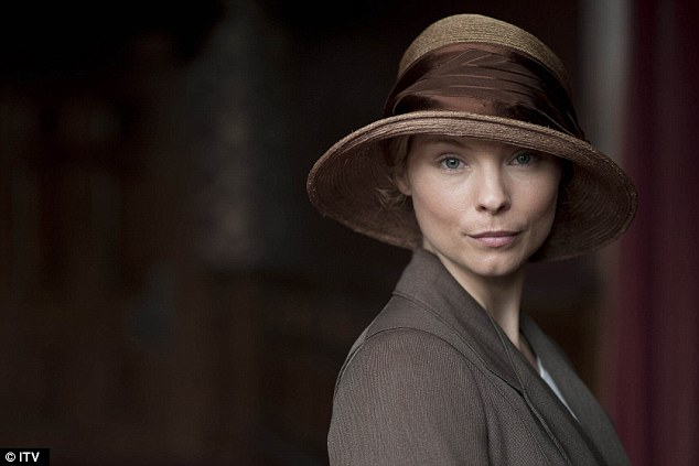 A new direction: Myanna appeared as new maid Edna Braithwaite in the Downton Abbey Christmas special