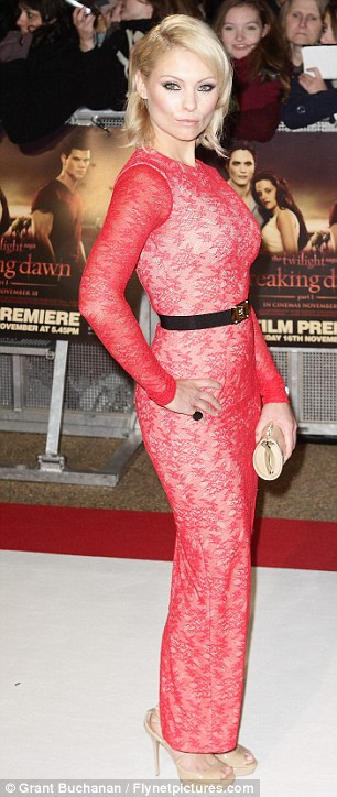 Style transformation: Myanna's fashion sense has come a long way since she attended the premiere of her movie The Twilight Saga: Breaking Dawn Part 1 in November 2011