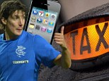 Rangers star Francisco Sandaza duped by Celtic fan cabbie in astonishing 23-minute phonecall - listen to clip