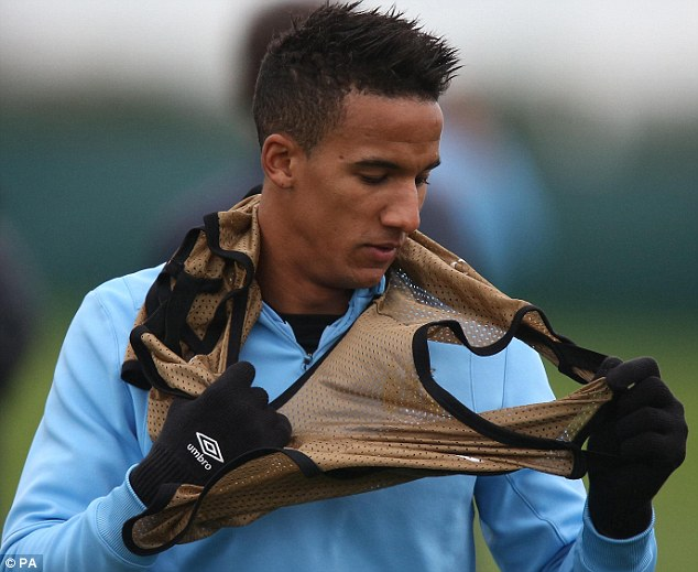 Up for grabs: Manchester City could cash in on £6.2million flop Scott Sinclair this summer