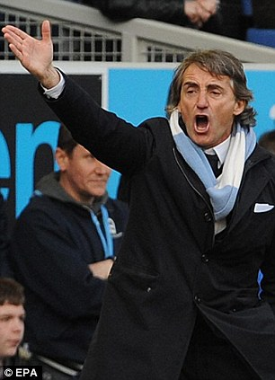 Off you go: Mancini would be prepared to sell Sinclair