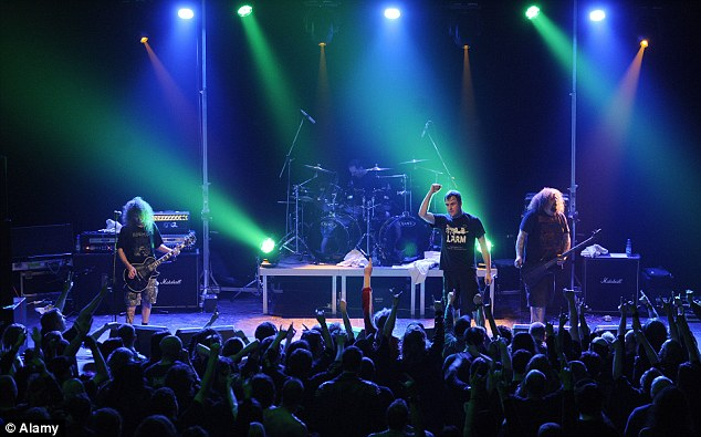 Eardrum assault: Heavy metal band Napalm Death have been entertaining 'grindcore' fans since 1981