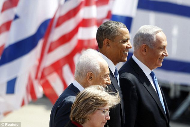 Style points: The itinerary is laden more with symbolism than substance, as Israel is increasingly wary of developments in Syria and Iran is Mr Obama's main focus
