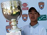 Ye Wocheng, 12, qualifies for Volvo China Open