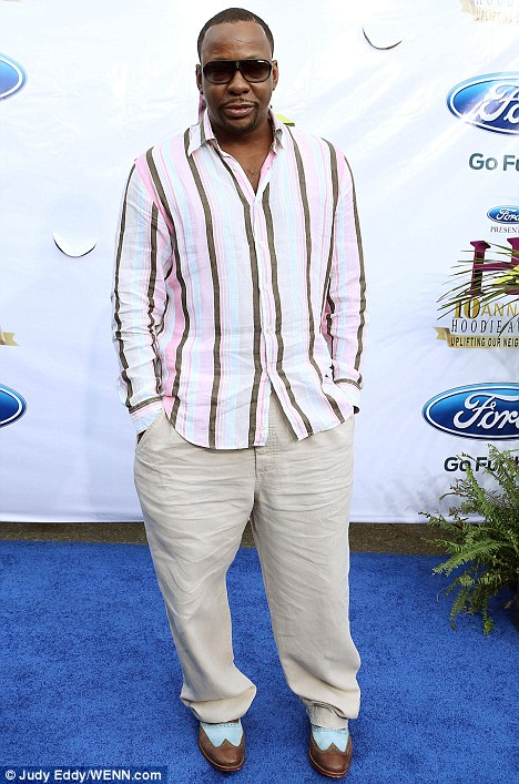 Following his drunk driving incident: The singer attented the 10th Annual Ford Hoodie Awards at MGM Grand Garden Arena in Las Vegas, Nevada in April 2012
