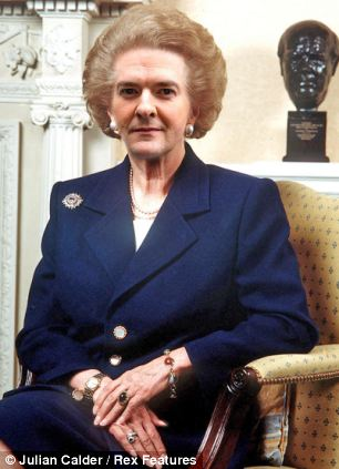 With computer trickery, George Osborne morphs in Margaret Thatcher
