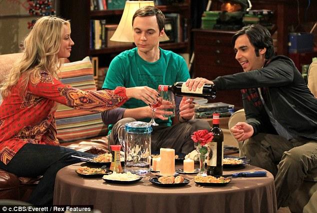 TV favourites: The group work together on sitcom The Big Bang Theory