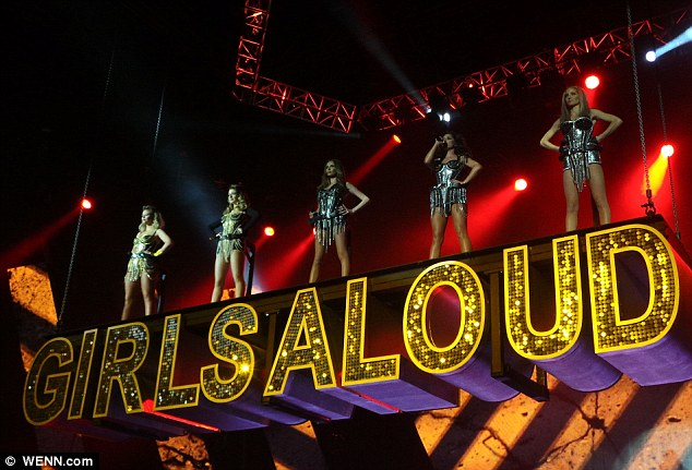 A final farewell: The girls made sure to bow out with an incredible final show in Liverpool