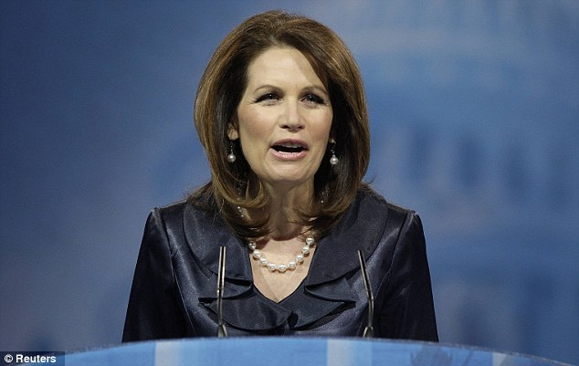 Claims: Bachmann had told the Conservative Political Action Conference that taxpayers were on the hook for a $1.4 billion White House 'lifestyle that is one of excess'