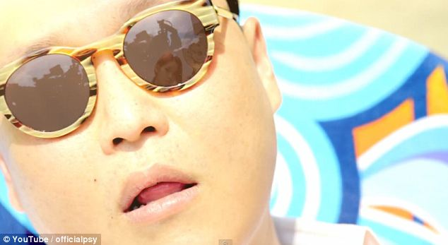Mass appeal: South Korean rapper Psy in his music video for the track Gangnam Style, which is far and away the most popular video on YouTube, the video-sharing website which has hit the one billion users a month mark