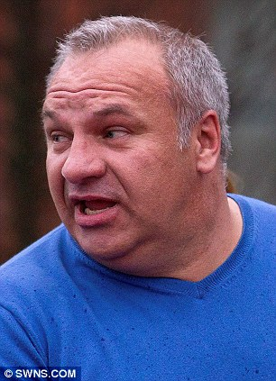 Salsa instructor Wayne Middleton leaves North Somerset Magistrates court where he is being tried for benefit fraud