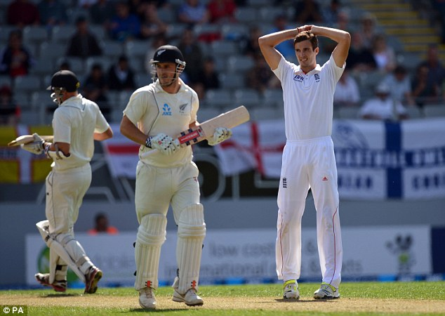 No joy: England couldn't make the breakthrough in the first hour