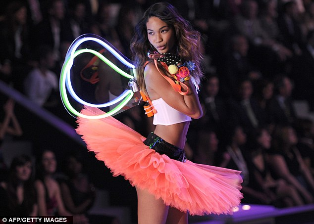 Victoria's Secret Angel: The 22-year-old said racism was still an issue in fashion advertising and runway shows