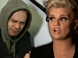 'I look like a binman': Kerry Katona throws a strop over her wardrobe... as 5ive's Sean struggles to cope with pressure in The Big Reunion