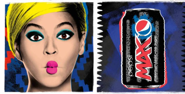 Pop singer Beyonce is the new face of Pepsi, which will launch its newly designed bottle from April