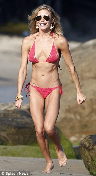 Tiny: LeAnn's appearance of late is much healthier to last year when she looked very slender in a bikini in Malibu