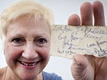 She's got (half) a ticket to ride: Beatles fan, 61, hunts for childhood friend to retrieve other half of signed ticket which could be worth a small fortune