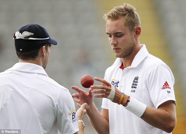 Struggling: England were made to work all day in Eden Park