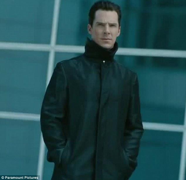 Wreaking his vengeance: It emerges Benedict Cumberbatch's mysterious villain wants revenge for an 'unforgivable crime'