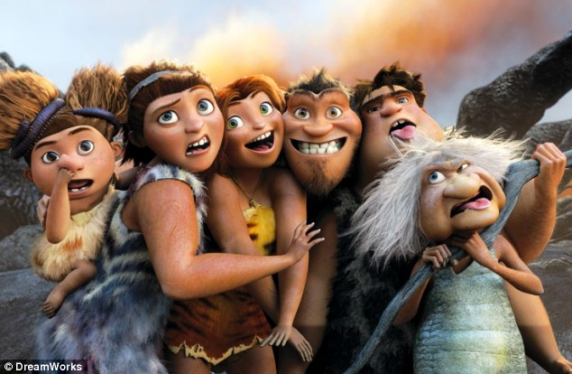Crude croods: Film uses tired stereotypes and sends out a bad message to children about fire and safety