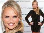 Kristin Chenoweth may be under five feet tall but her presence stood out above the crowd at the Family Weekend screening on Thursday night.