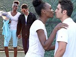Venus Williams and her boyfriend Elio Pis can't keep their hands off each other in Miami