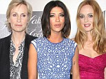 Three times the ladies! Jane Lynch leads the way as Heather Graham and Jessica Szohr sparkle at Beverly Hills charity event