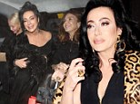 Nancy Dell'Olio heads out on the town again